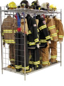 Double Sided Freestanding Ready Rack – 18″ Compartments
