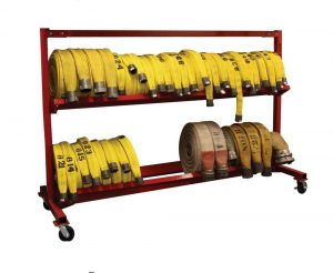 Mobile Hose Cart – 104″ Two Tier Unit
