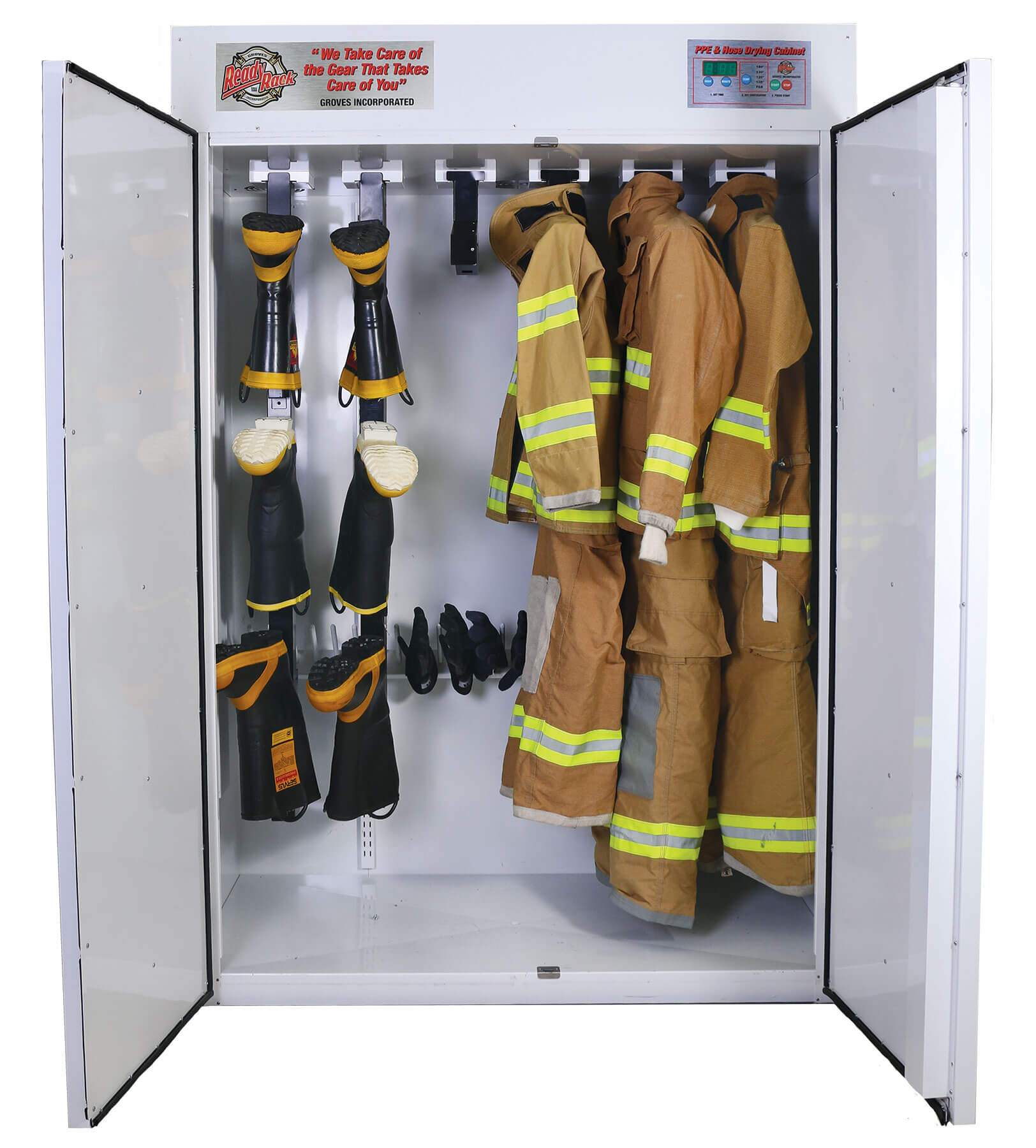 Fire Gear Washer ~ Ppe and hose dryer ready rack