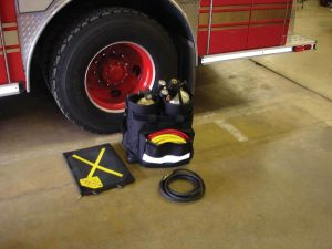 SCBA/Cylinder/Rescue Bag with two 45-60 minute large profile bottle inserts