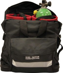 SCBA/Cylinder/Rescue Bag with two 20 minute low profile bottle inserts