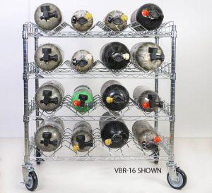 SCBA Mobile Bottle Carts